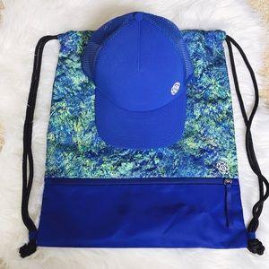 NWT 2019 LULULEMON SEAWHEEZE Drawstring Bag & Hat